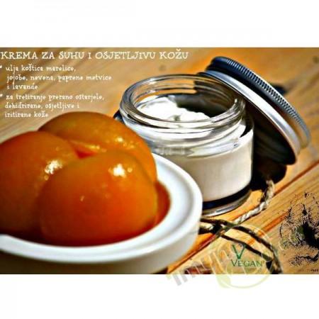 Krema za suhu i osjetljivu kožu 50g