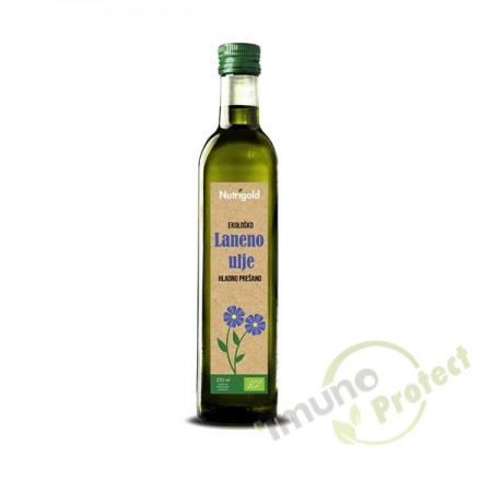 Laneno ulje Nutrigold, 250 ml