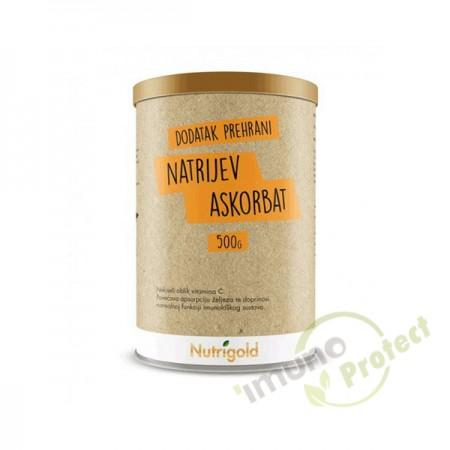 Natrijev askorbat prah,  Nutrigold 500g