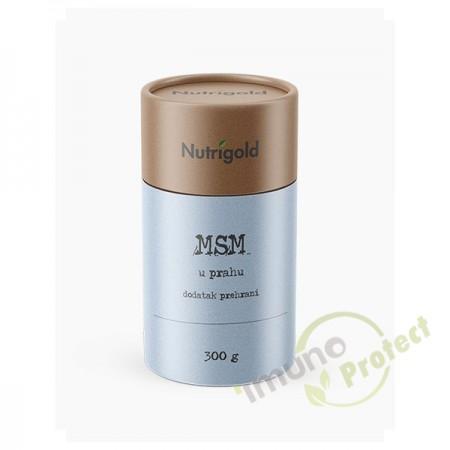 MSM prah Nutrigold, 300g
