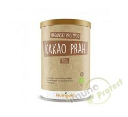 Kakao prah - Organski  Nutrigold, 500g