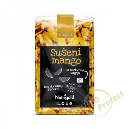Sušeni mango Nutrigold - Organski, 200g