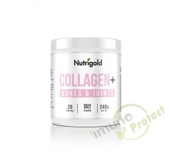 Collagen+ Bones and Joints - Za zdravlje kostiju Zelena jabuka, Nutrigold 245g
