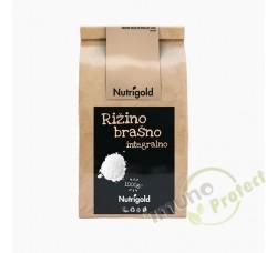 Rižino brašno integralno Nutrigold, 1kg