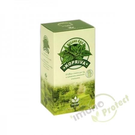 Čaj kopriva filter Suban 37,5g