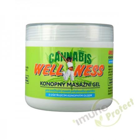 Wellness masažni gel od konoplje 500 ml