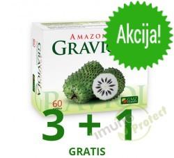 Amazonska GRAVIOLA  500 mg, 60 kapsula - AKCIJA